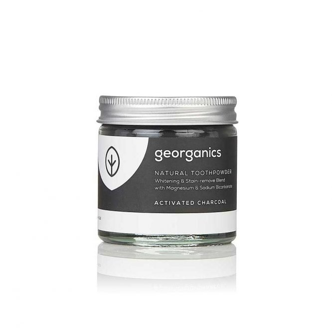 georganics natural toothpowder activated charcoal
