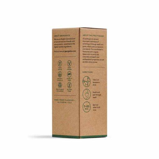 spearmint mouthwash packaging