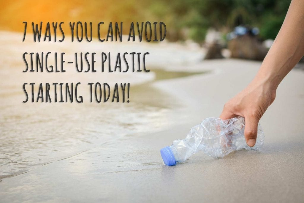 sustainable living lifestyle say no to plastic