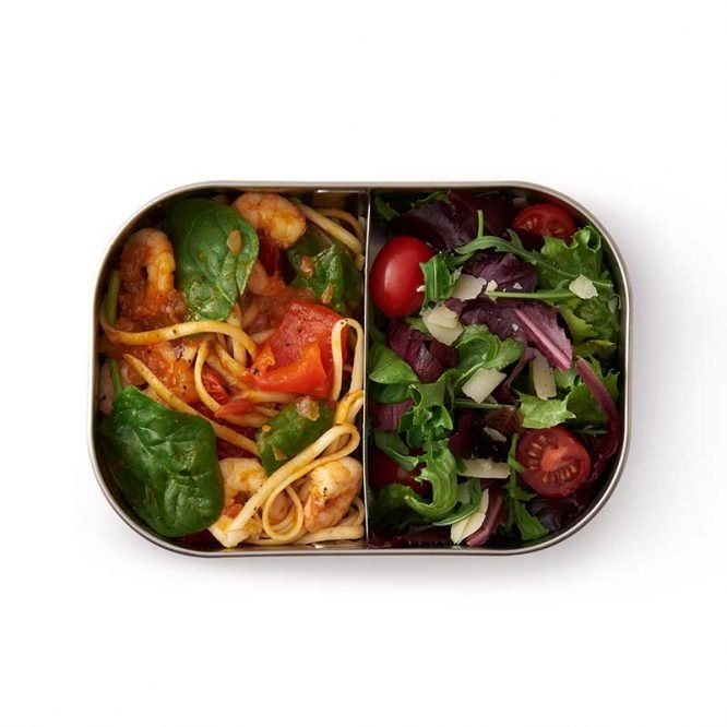dishwasher and oven ready stainless steel lunchbox by black and blum