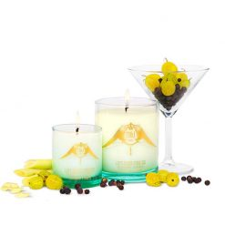 m&j london luxury soya candle left bank martini