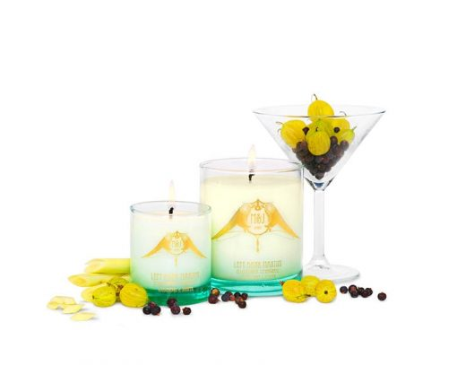 m&j london luxury soya candle left bank martini
