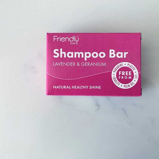 plastic free shampoo bar in packaging