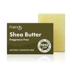 friendly soap shea butter facial bar