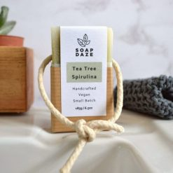 vegan soap on a rope for the shower