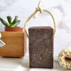 nourished skin soap on a rope extra large