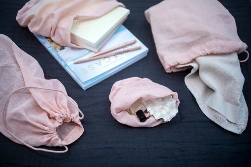 pink all purpose cotton bags