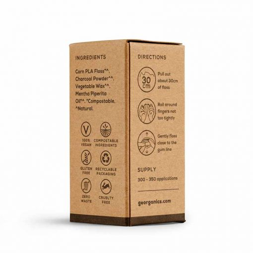 packaging for natural dental floss refills