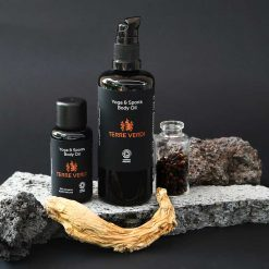 yoga and sports body oil