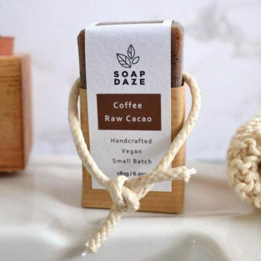 extra large natural soap on a rope