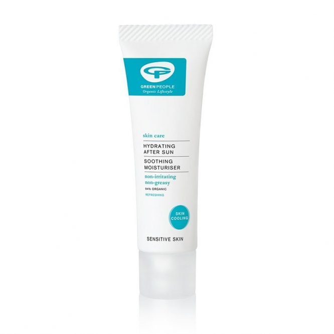 organic after sun cream for travel hand luggage friendly