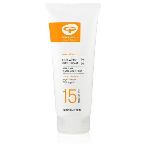 organic sun cream spf15