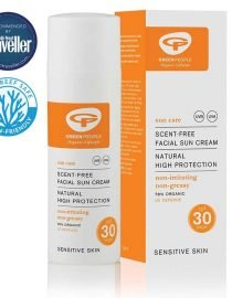 facial sun cream high spf30 zero waste travel size