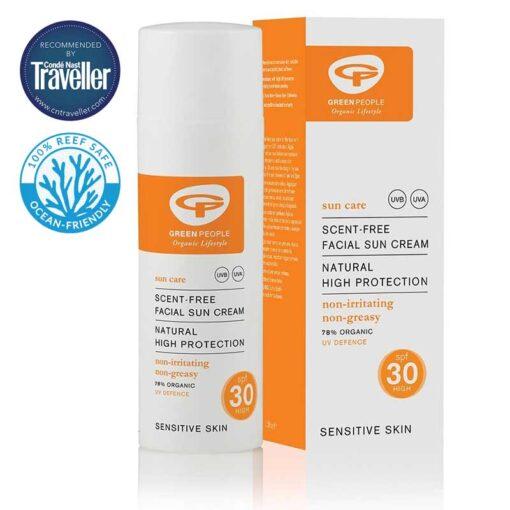 facial sun cream high spf30 zero waste travel size