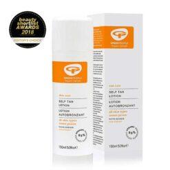 non streaky organic self tan lotion