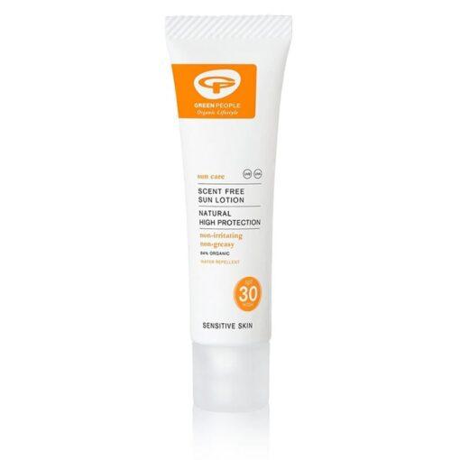 SPF30 travel sun cream zero waste small size
