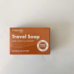 travel soap bar for hair and body