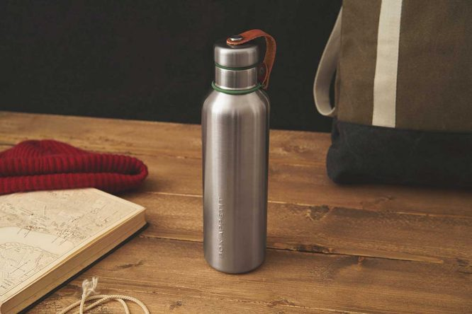 reusable water bottle for sustainable living
