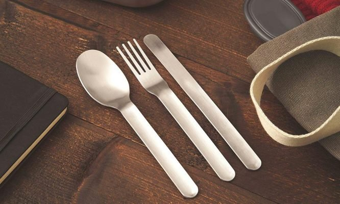 reusable cutlery complete set