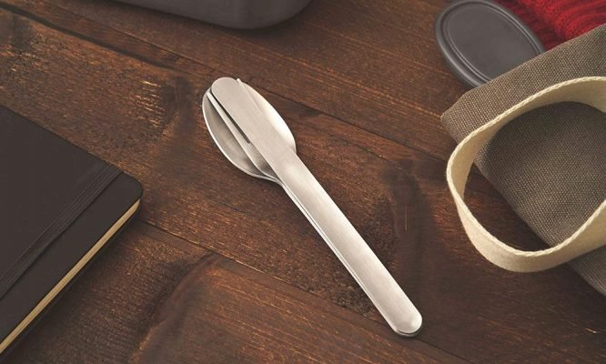 zero waste living cutlery set