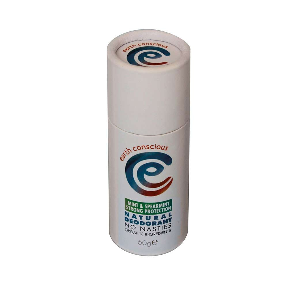 Natural Deodorant Stick - Peppermint & Spearmint Strong Protection
