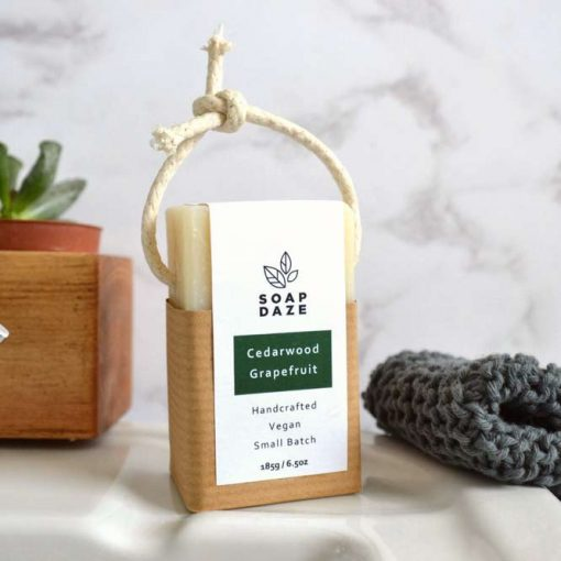 soap on a rope stimulate senses