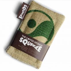 coffee unsponge squeeze made from upcycled coffee sacks