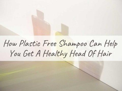plastic free shampoo blog post banner