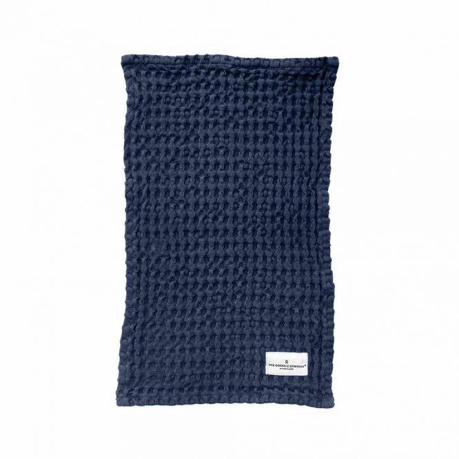 multipurpose wash cloth in dark blue