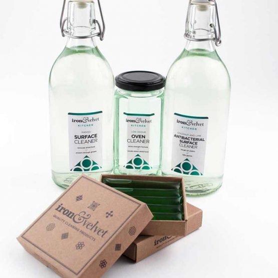 zero waste antibacterial kitchen surface cleaner