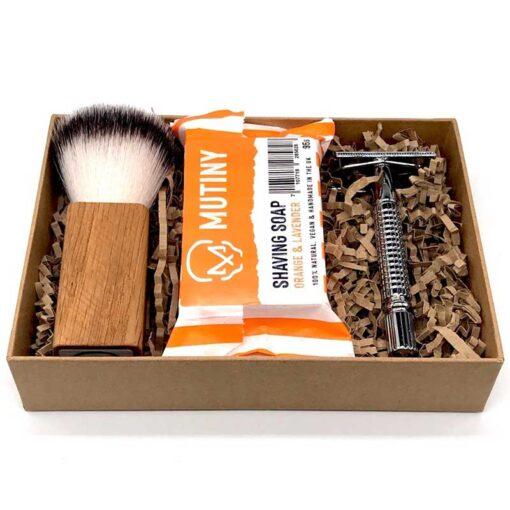 plastic free shaving set