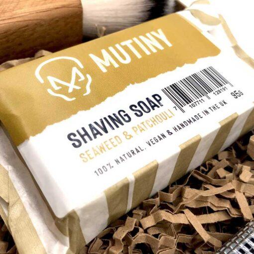 plastic free shaving soap