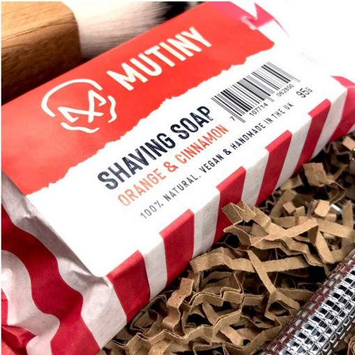 plastic free razor set with shaving soap