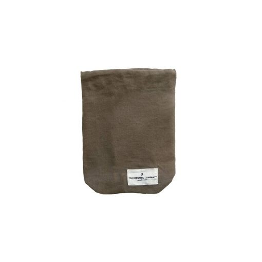 zero waste organic cotton drawstring bag