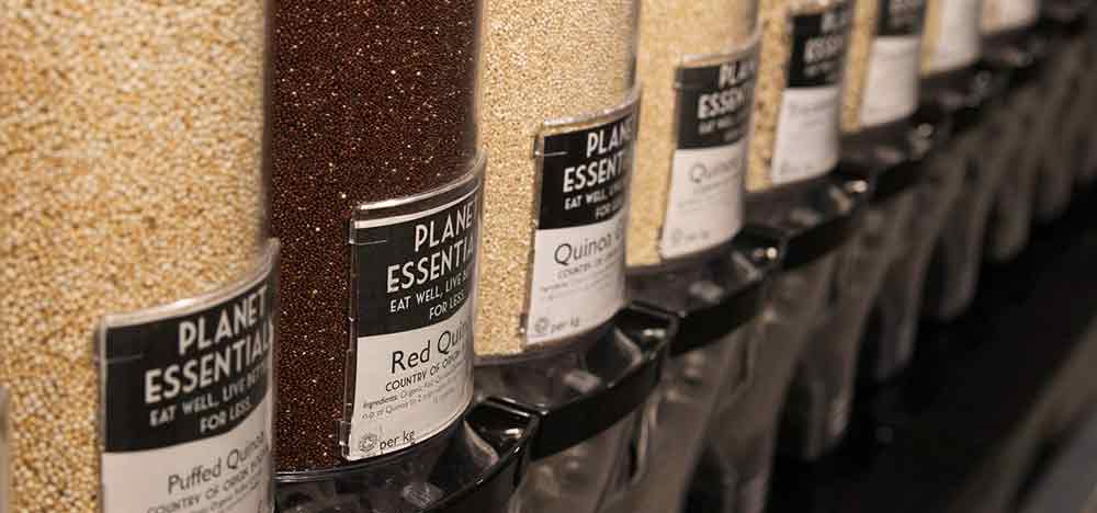 best zero waste shops in london with refills