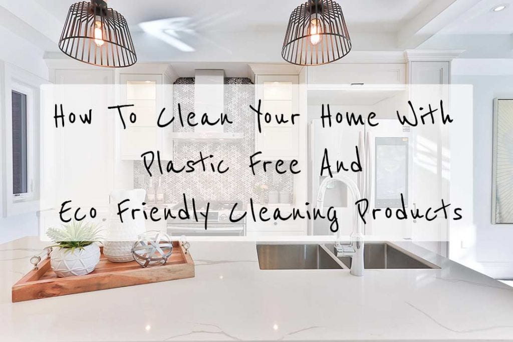 plastic free cleaning products