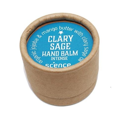 scence hand moisturiser balm in clary sage fragrance