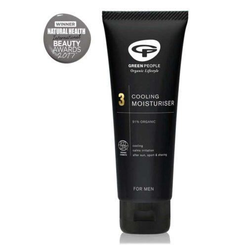 organic face moisturiser for men by green people
