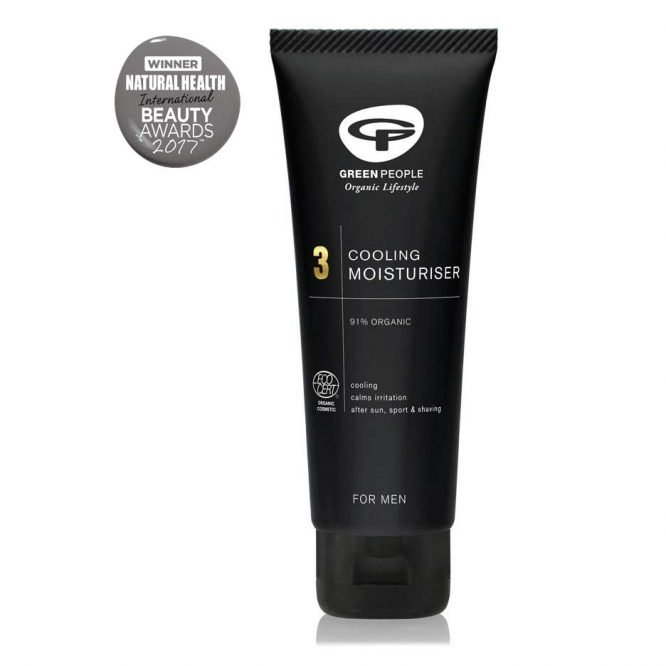 organic face moisturiser for men by green people