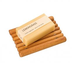 beechwood soap dish for natural soaps