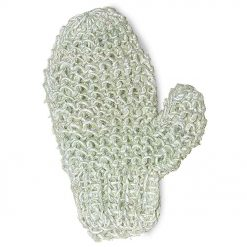 sisal massage glove for washing and massage