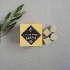 plastic free shampoo beauty kubes