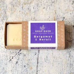 plastic free soap bar with bergamot and neroli