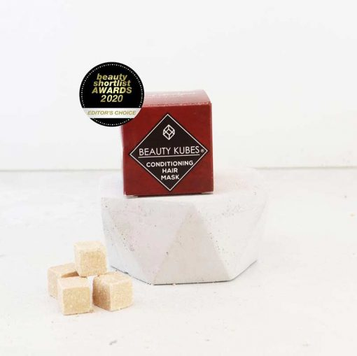 plastic free conditioner cubes in a box