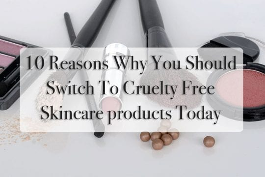 cruelty free skincare products with leaping bunny symbol