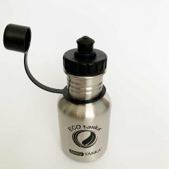sports cap bottle from above with lid off