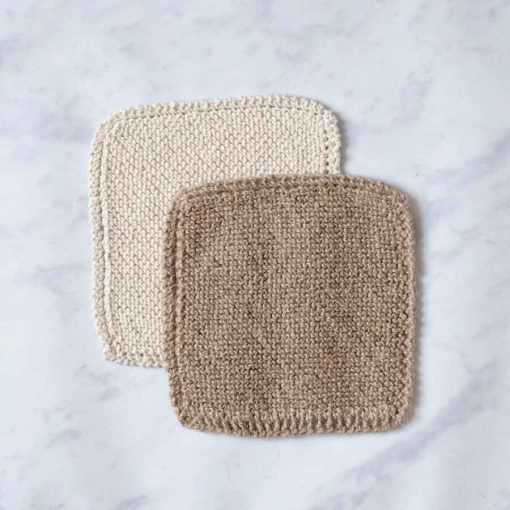 Twin pack sustainable dish scrubber