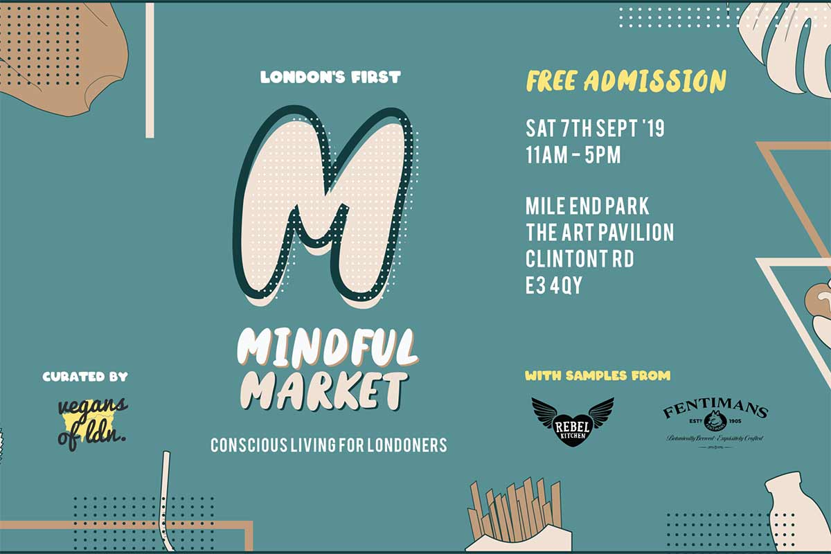 Londons First 'Mindful Market' With Vegans Of London