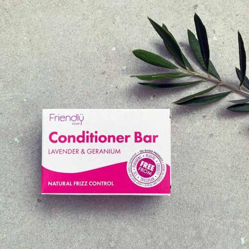 solid conditioner bar in cardboard box