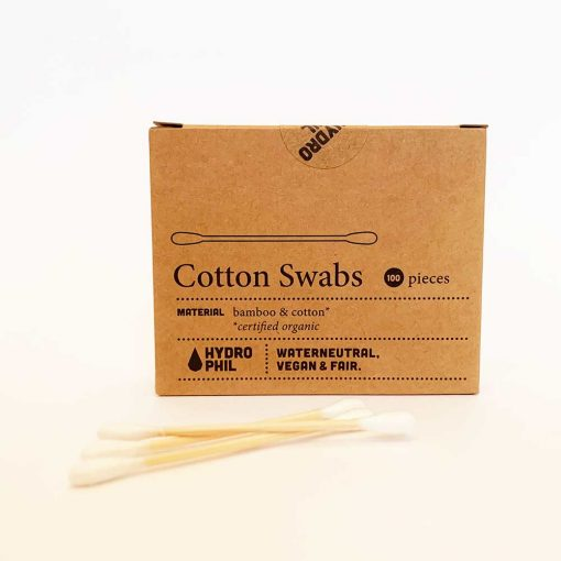 biodegradable bamboo cotton buds by hydrophil